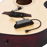 SKYSONIC T-902 Acoustic Guitar Active Soundhole Pickup Magnetic + Microphone