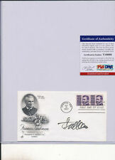 Psa/Dna Signed First Day Cover P1300 Steve Allen