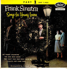 "Frank Sinatra - Songs for Young Lovers - 7""EP - Part 1 -  60er Jahre"