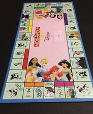 Monopoly Junior Jr DISNEY PRINCESS Replacement Parts Pieces GAME BOARD