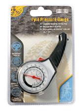 Medidor de Presión de Neumáticos Coche Eco y herramienta de comprobación Bicicleta medida calibrado Dual RY287
