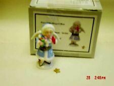 PHB MIDWEST LITTLE GIRL ANGEL TRINKET BOX W/ STAR TRINKET