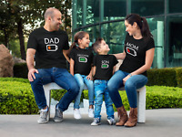 Battery Family Shirts Matching T-shirts Low Level Mom Dad Daughter Son Christmas