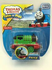 Fisher Price Thomas And Friends Take-n-Play Train Engine Car Of Percy