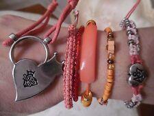 String Bracelets, lot of 6