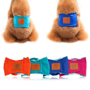 Pet Sanitary Panties Male Dog Diapers Nappy Belly Band Wrap Safety Underwear #r