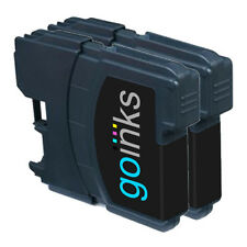 2 Black Ink Cartridges compatible with Brother DCP-145C DCP-375CW DCP-395CN