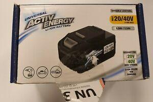 Activ Energy Universal LI-ION Battery AEB 20/40V Akkupack 5.0Ah / 2.5Ah