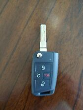 Genuine OEM GTI VW Remote Flip Key Keyless Entry Fob 4 Button Black NBGFS12A01