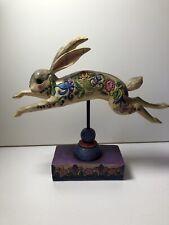"""Jim Shore Rabbit """"Countryside Beauty"""", Heartwood Creek/Enesco"""