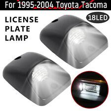 Fit 1995-2004 TOYOTA Tacoma [FULL WHITE LED]License Plate Light Lamp Housing SET