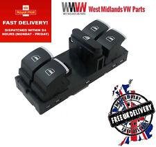 Electric Power Window Switch Driver Side For VW Golf Jetta MK5 Passat B6 New