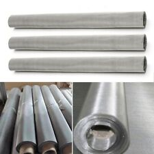 Filter Mesh Stainless Steel Woven Wire Mesh Lab Grading Mesh 30x60cm Roll