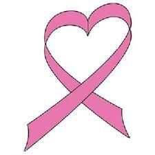 Breast Cancer Ribbon HEAT PRESS TRANSFER PRINT for T Shirt Sweatshirt Bag 735c