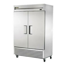 """True Ts-49-Hc 55"""" Two Section Solid Door Stainless Steel Reach-In Refrigerator"""