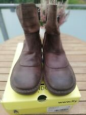 Fly London Bikerboots, Stiefel - Braun Gr. 40