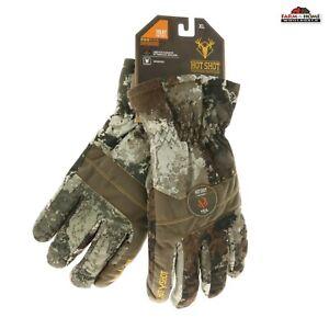 Men's Waterproof Insulated Winter Warm Gloves Camo XL ~ NEW
