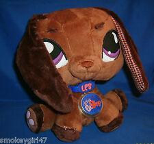 Littlest Pet Shop VIPs Daschund Dog Stuffed Animal Plush New w/Code 2007 Release