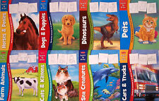 Learn to Draw Horses & Ponies,Dinosaurs,Farm Animals,Trucks,Dogs +(8 Paperbacks)