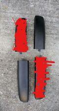 2006 - 2011 Chevrolet HHR Black roof rail track end covers for OEM roof rails
