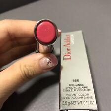 Dior Addict Lipstick 566 TAFFETAS Vibrant Shine Full Size New Original Box