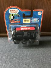 RARE Retired Thomas Wooden Railway Black Diesel New In Box!