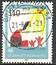 2062 Vollstempel gestempelt Briefzentrum 53 BRD Bund Deutschland Jahrgang 1999