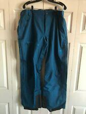Mountain Hardwear Straight Chuter Ski Snowboard Pants Mens XL - Morrocan Blue