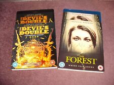 The Forest & The Devil's Double JOBLOT 2 Blu Ray With Slipcases