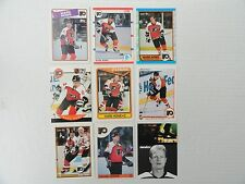 Mark Howe 9 Card Lot  ALL DIFFERENT!!!    Philadelphia Flyers