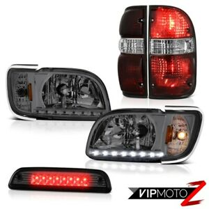 For 01-04 Toyota Tacoma High stop lamp parking brake lights headlamps bumper LED