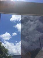 "60""x100FT ROLL CHROMEBRONZE REFLECTIVE 10% WINDOW TINT PRIVACY FILM ENERGYSAVER"