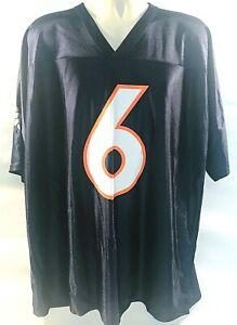 NFL Mens Denver Bronco #6 Cutler Jersey Size XL