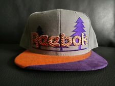 The Reebok Trees Snapback in Charcoal