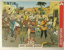 Puzzle Tintin, l'oreille cassée, Nathan, 1992 - Cavahel Vintage