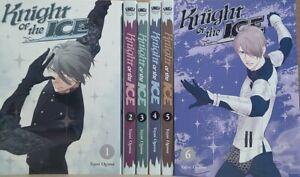 Knight of the Ice Vol. 1 - 7 English Manga Graphic Novels New Lot K Comics