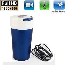 HD Spy Hidden Water Cup Camera Mini DVR Motion Detector Nanny Video Recorder Cam