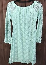 Womens Jane Norman Summer Lace Dress Ladies Bell Bottom Sleeves Size 16