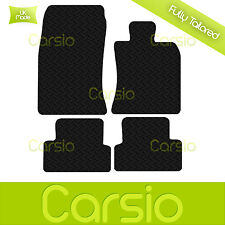 Black Fully Tailored Rubber Car Floor Mats For BMW Mini Clubman R55 2007 to 2015