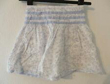 YIGGA ° hübscher Rock Gr. 128 blau gemustert Mädchen Mode Kleidung Mädchenrock