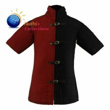 Medieval gear Gambeson Costumes dress padded Aketon shirt under armor sca larp