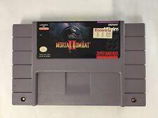 Mortal Kombat II 2  Nintendo SNES Game *Cart Only* NOT TESTED