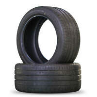 2x Sommerreifen Reifen Yokohama Advan Sport V105 285/40 R19 107Y DOT 1416 5 mm