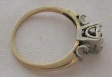 Antique Victorian Estate 14k Gold Ring Enagagement ring 4.5 Empty set  2 gram