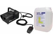EUROLITE N-10 Nebelmaschine schwarz Party-Nebelmaschine + 5 Liter Light Fluid