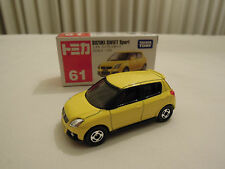 Tomica Suzuki Swift Yellow & Swift JDM DVD Magazine All Region DVD Lot / Set New