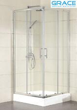 New 900 Sliding Door Shower Screen 6mm Glass semi frameless suit 900x900 base