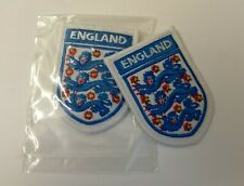Obsolete Padded Embroidered England International Football (F.A) Team Insignia