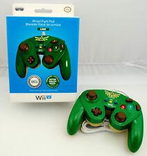 Manette filaire de combat LINK pour console Nintendo Wii U (Wired Fight Pad)