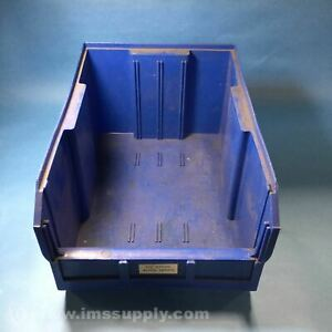 Quantum ULTRA 255 BLUE Plastic Storage Stacking Ultra Bin USIP